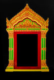 Buddhist temple window Royalty Free Stock Photos