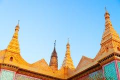 Buddhist temple, Yangon Stock Photos