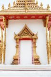 Buddhist temples in Asian style Royalty Free Stock Images