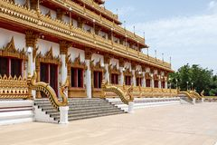 Buddhist temples in Asian style Stock Images