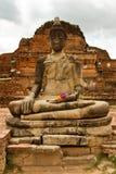 Buddhist temples of Ayuthaya, Thailand Stock Image