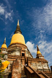 Buddhist temples of Ayuthaya, Thailand Royalty Free Stock Images