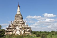 Buddhist temples in Bagan Stock Photos