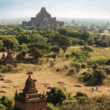Buddhist Temples at Bagan Kingdom. Dhammayan Gyi Pagoda, Myanmar Stock Photography