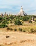 Buddhist Temples at Bagan Kingdom, Myanmar (Burma) Royalty Free Stock Images