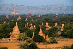 Buddhist Temples at Bagan Kingdom, Myanmar (Burma) Stock Photography