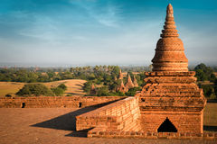 Buddhist Temples at Bagan Kingdom, Myanmar (Burma) Royalty Free Stock Image