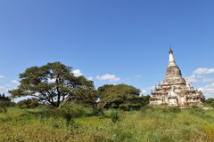 Buddhist temples in Bagan Royalty Free Stock Photography