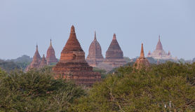 Buddhist temples in Bagan, Myanmar Stock Image