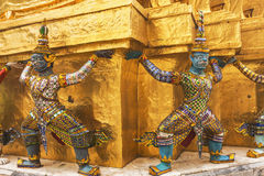 Buddhist Temples in Bangkok, Thailand Stock Photography