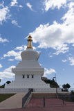 Buddhist temples located in Spain, Temple of Benalmadena in Malaga Stock Image