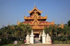 Buddhist temples of Myanmar Royalty Free Stock Image