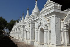 Buddhist temples and pagodas of Mandalay in Myanmar Stock Photos