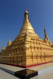 Buddhist temples and pagodas of Mandalay in Myanmar Royalty Free Stock Photo