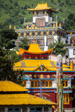 Buddhist temples Stock Photography