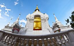 Buddhist temples in Thailand. Royalty Free Stock Images