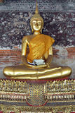 Buddhist temples in Thailand. Enlightenment; statue; symbol;Buddhist temples in Thailand Stock Photos