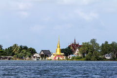 Buddhist temples in Thailand Royalty Free Stock Photos