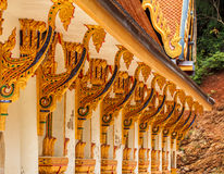 Buddhist temples in Thailand. Thailand traditional style. Buddhist temples in Thailand Royalty Free Stock Photo