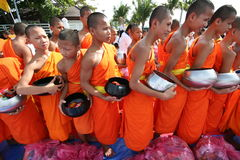 Buddhist Thai Monks Collections Royalty Free Stock Photography