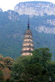 Buddhist tower Stock Photo