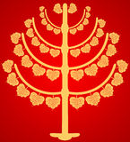 Buddhist tree Royalty Free Stock Photography