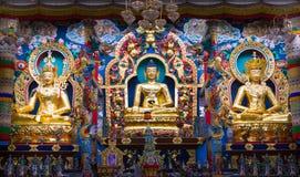 Buddhist Trinity Stock Image