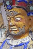 Buddhist Warrior Royalty Free Stock Photos
