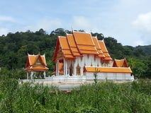 Buddhist wat Phuket Thailand Royalty Free Stock Images