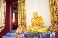 Buddhist Wat Plai Laem temple on Koh Samui island. Stock Image
