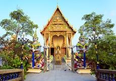 Buddhist Wat Plai Laem temple on Koh Samui island Stock Images
