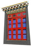 Buddhist windows Stock Photography