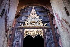 Buddhist wooden building stock images