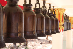 Buddhistic bells Royalty Free Stock Photography