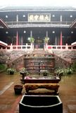 buddhistic kloster Arkivbilder