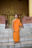 Buddhistic monk, , Luang Prabang, Laos Stock Photo
