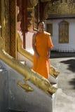 Buddhistic monk, , Luang Prabang, Laos Stock Image