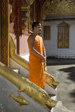 Buddhistic monk, , Luang Prabang, Laos Stock Photography
