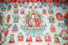 Buddhistic painting Royalty Free Stock Photography