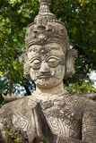 Buddhistic Sculpture Stock Images