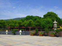 A Buddhistic square Stock Photo