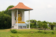 Buddhistic statue. Statue of Buddha in Sri Lanka town Stock Images