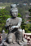 Buddhistic statue Stock Photos
