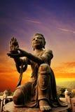 buddhistic staty royaltyfria bilder