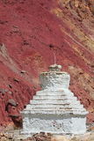 Buddhistic stupa (chorten) in the Himalayas Stock Images