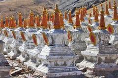 Buddhistic stupas Stock Images