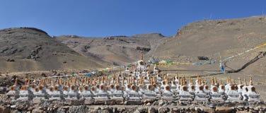 Buddhistic stupas Royalty Free Stock Photo
