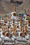 Buddhistic stupas Stock Photos