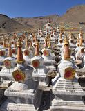 Buddhistic stupas Stock Photography