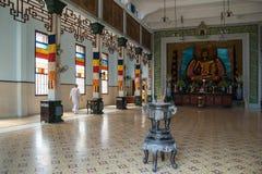 Buddhistic tempel i Vietnam Royaltyfria Bilder